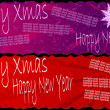 Xmas banners - Stock Vector