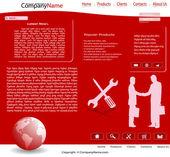 Web sitesi — Stok Vektör