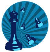 Xadrez — Vetor de Stock