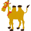 Stock Vector: Cartoon camel