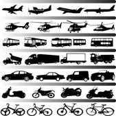 Transportation — Stock Vector