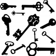 Keys — Vector de stock #2316075
