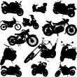 Royalty-Free Stock Vector Image: Motorcycle