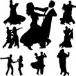 Royalty-Free Stock Immagine Vettoriale: Dancing