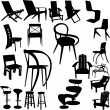 Stock Vector: Chair