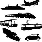 Transportes — Vector de stock