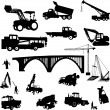 Construction objects - Stock Vector