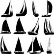 Royalty-Free Stock Vector Image: Sailing boat
