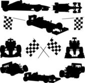Formula cars — Stock Vector