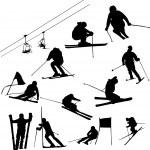 Ski — Stock Vector #2523206