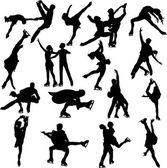 Figure skating — Vector de stock