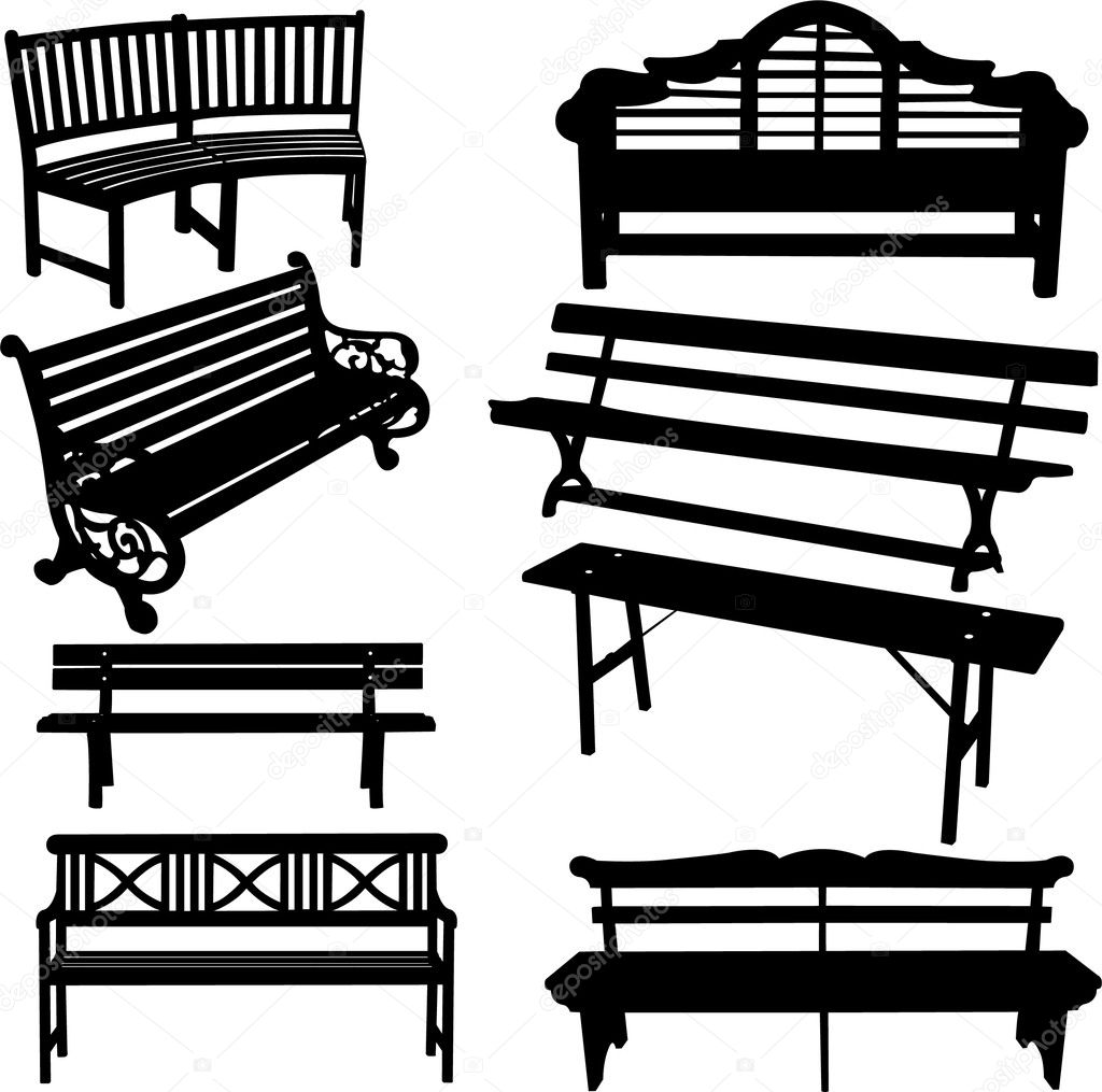 bench — Stock Illustration © Ranko Bojanovic #