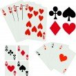 Game cards - Stock Vector