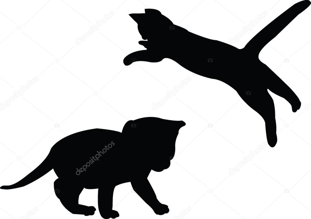 Baby cat - vector  Stock Vector #2097477