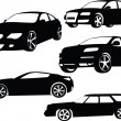 Cars collection 2 - Stock Vector