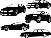 Cars collection 2 — Stock Vector