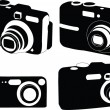 Camera collection - Stock Vector
