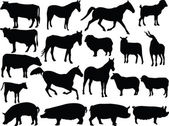 农场动物 2 — 图库矢量图片