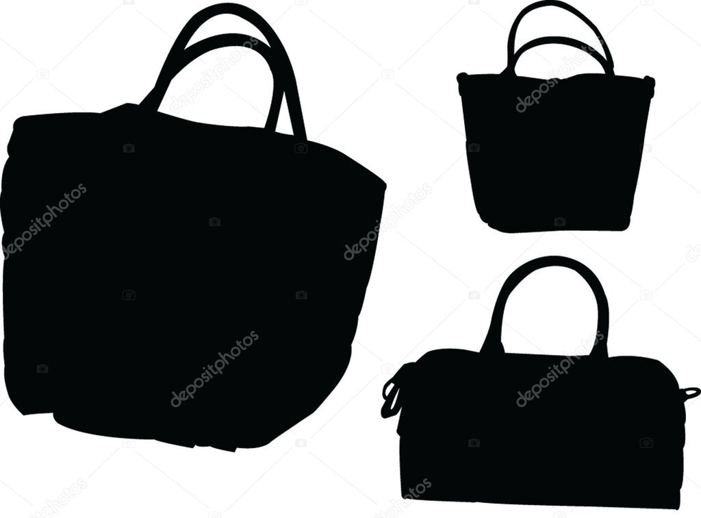  purses collection - vector  Stock Vector #2184124