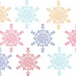 Stock Vector: Snowflake 2