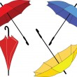 Royalty-Free Stock Vector Image: Umbrella collection