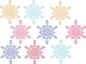 Fiocco di neve 2 — Vettoriale Stock