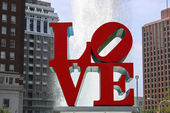 Love Park, Philadelphia — Stock Photo