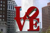 Love Park, Philadelphia — Stock Photo