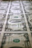 Sheet of Two Dollar Bills 2 — Stock Photo