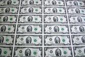Sheet of Two Dollar Bills 4 — Stock Photo