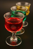 Holiday Cordials — Stock Photo