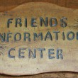 Information Center Sign — Stock Photo #2119038