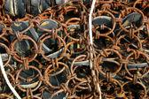 Rusty Net — Stock Photo
