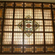 Stock Photo: Stained Glass Ceiling