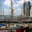 Stock Photo: Tall Ships