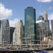 NYC Skyline - Stock Photo