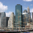 NYC Skyline — Stockfoto