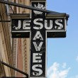 Jesus Sign - Foto Stock