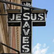 Stock Photo: Jesus Sign
