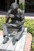 Bronze Statue in Hilton Head, S.C. — Stock Photo
