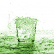 Stock Photo: Water glass