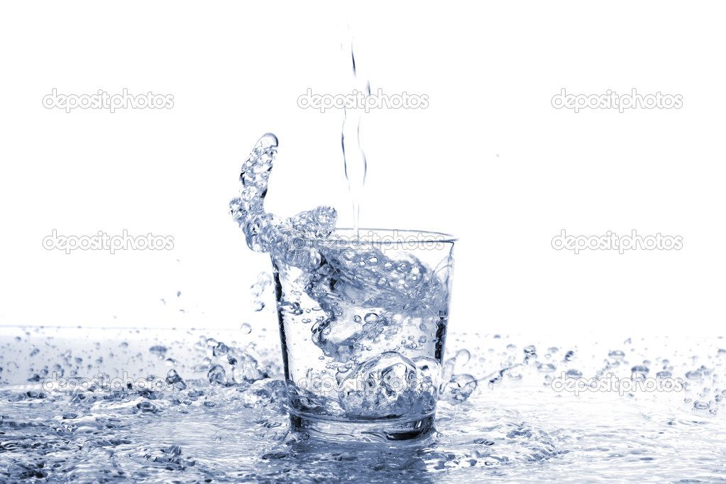 Water glass — Stock Photo #2409265