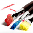 Artist's brushes — Stock Photo