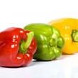 Clolored paprika — Stockfoto