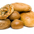 Variety of fresh bread - Lizenzfreies Foto