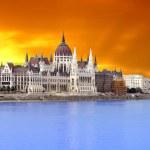 Parliament (Hungary-Budapest) — Stock Photo