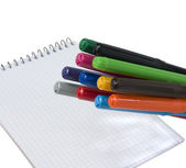 Colour pens — Foto Stock
