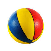 Beach basketball ball — Stock Photo