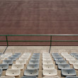 Stock Photo: Racetracks and seats