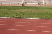 Athletics stadium — Stock Photo